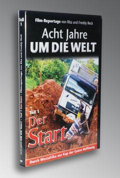 """DVD-Teil 1 """"Der Start"""" Von Ludwigsburg ans Kap der Guten Hoffnung"""