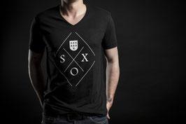 """""""100% SOX"""" T-Shirt Schwarz"""