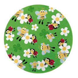 Naturkautschuk Ball, klein, Biene