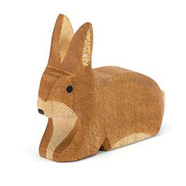 Ostheimer - Hase braun gefleckt sitzend
