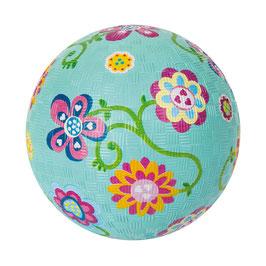 Naturkautschuk Ball, klein - Blumen