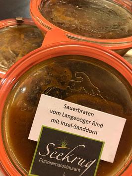 Sauerbraten vom Langeooger Rind - 230g