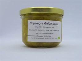 Eingelegte GELBE Beete mit Meerrettich  - Ditjes und Datjes - 250g