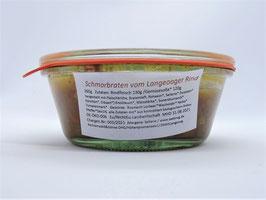 Schmorbraten vom Langeooger Rind mit Wurzelgemüse - 240g