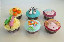 Caja de 6 Cupcakes