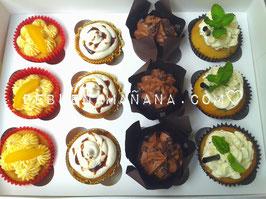 Caja 12 Cupcakes