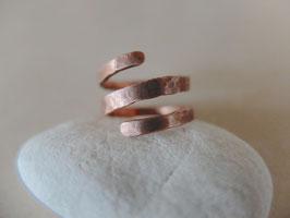 Kupfer-Ring HRINGUR-1 breit 50