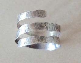 """Silber-Ring """"HRINGUR"""" 56/57"""