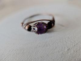 Kupfer-Ring Kleine Fee