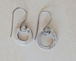 """Silber-Ohrringe """"Oh-Oh´s"""" M 2mm"""