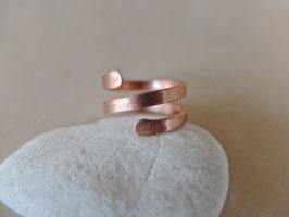 Kupfer-Ring HRINGUR-2 50 breit