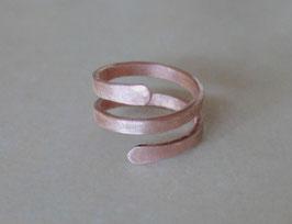 Kupfer-Ring HRINGUR Eis 58