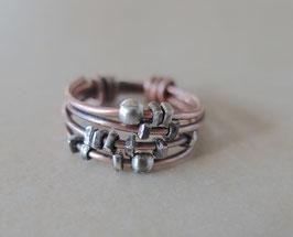 Kupfer-Ring Organic 4