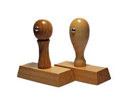 Holzstempel 55 x 20 mm