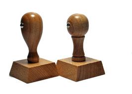 Holzstempel 40 x 40 mm