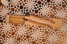 Schreibset aus Bambus 2-tlg.      Art.Nr.208