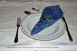 Serviettenring aus Plexiglas als Tischkarte - rund