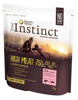 TRUE INSTINCT HIGH MEAT, LACHS & THUNFISCH