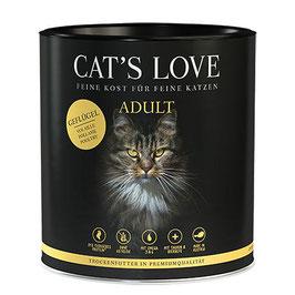 CAT'S LOVE ADULT TROCKENFUTTER GEFLÜGEL