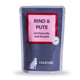 ESCAPURE, RIND & PUTE MIT PETERSILIE