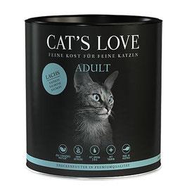 CAT'S LOVE ADULT TROCKENFUTTER LACHS