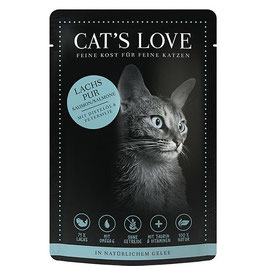 CAT'S LOVE ADULT LACHS PUR