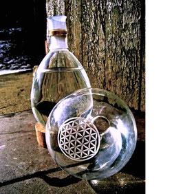 Bio-Wasserwirbler BLUME DES LEBENS 1 Liter