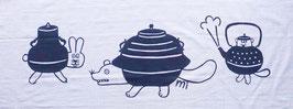 手ぬぐい:分福茶釜