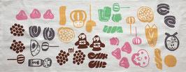 手ぬぐい:仙台駄菓子