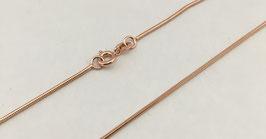 Halskette Silber 925 rosè vergoldet