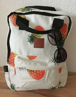 Square Backpack Pineapple