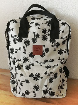 Square Backpack Palm Tree