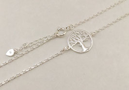 Halskette Lebensbaum Silber 925