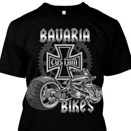 Bavaria Custom Bikes T-Shirt Männlich