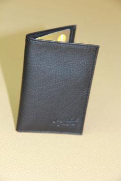 Porte carte cuir  veau pleine fleur réf. 362