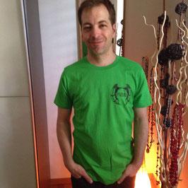 T-Shirt Owl - green