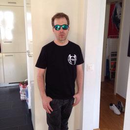 T-Shirt Owl - black