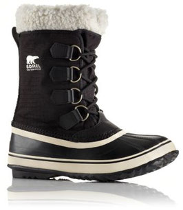 Sorel Winter Carnival Black, Stone