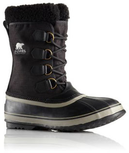 Sorel 1964 Pac Nylon Black, Tusk