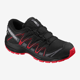 Salomon XA PRO 3D CSWP J Black/Black/High Risk Red