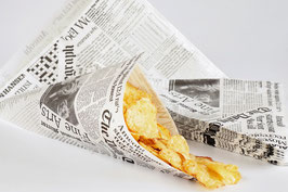 "Spitztüten Fish & Chips ""The Daily Telegraph"""