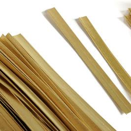Verschlussstreifen in gold, 100 oder 120 mm