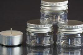 Kunststoffdöschen für ca. 25 ml