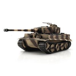 Torro 1/16 RC Tiger I Späte Ausf. Wüste IR Servo