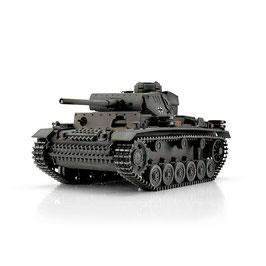 Torro 1/16 RC PzKpfw III Ausf. L grau IR