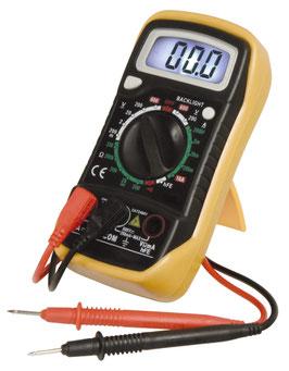 Digitalmultimeter Messgerät Spannungsprüfer Voltmeter LCD beleuchtet M-730L