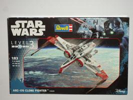 Revell 03608 ARC-170 Clone Fighter Star Wars | Bausatz 1:83