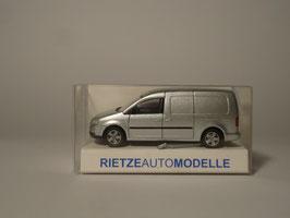 Rietze H0 21800 VW Caddy Maxi Kasten (silber)