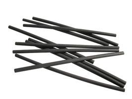1 Meter Schrumpfschlauch 2,4 mm auf 1,2 mm schwarz