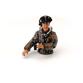 Torro 1/16 Halbfigur Panzerkommandant Sommertarn